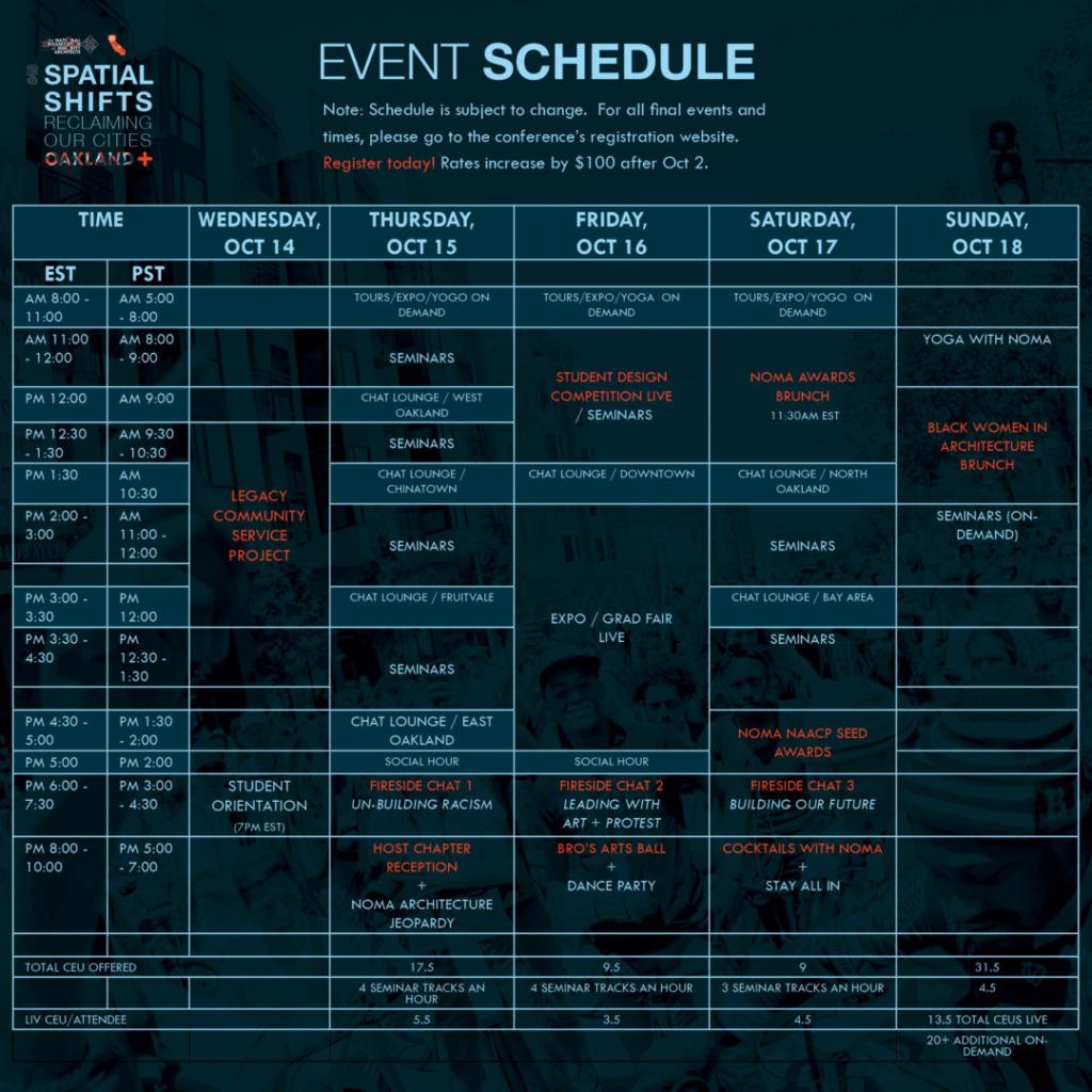 Noma2020 Sq Schedule