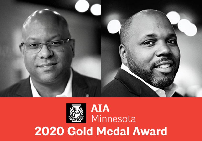 James Garrett, Jr., AIA, NOMA, and Nathan Johnson, AIA, NOMA, Receive AIA Minnesota 2020 Gold Medal