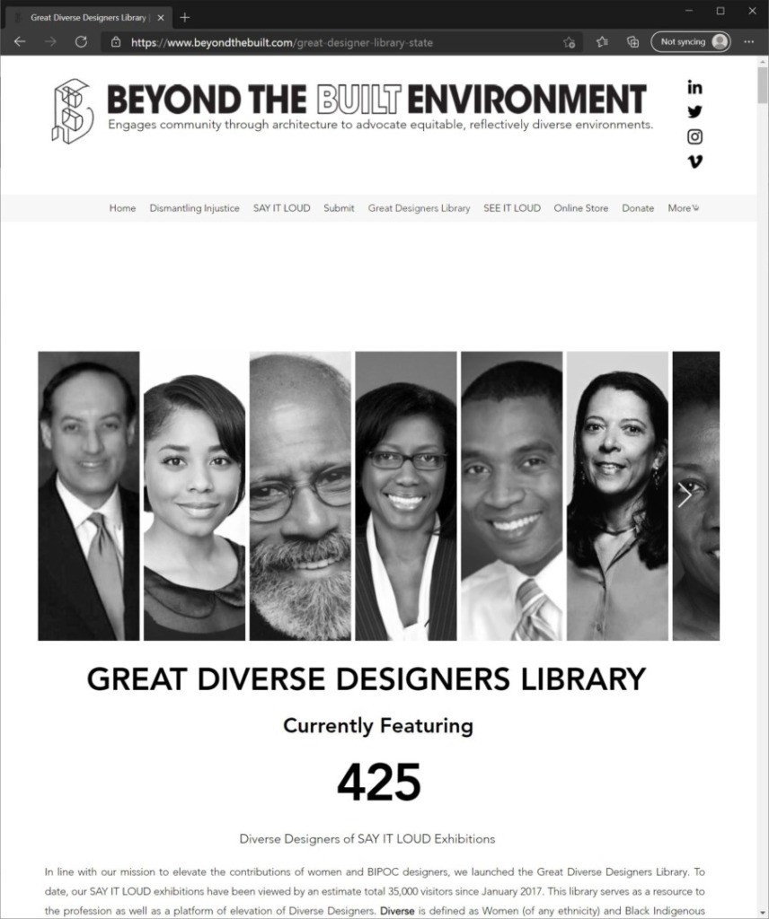Greatdiversedesigners Screenshot