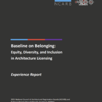 Baseline on Belonging report cover