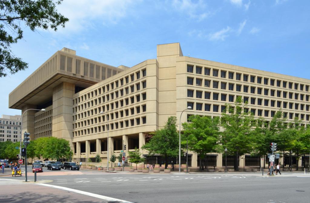 Washington Dc Fbi J. Edgar Hoover Building Brunswyk (2012). Edgar Hoover Building