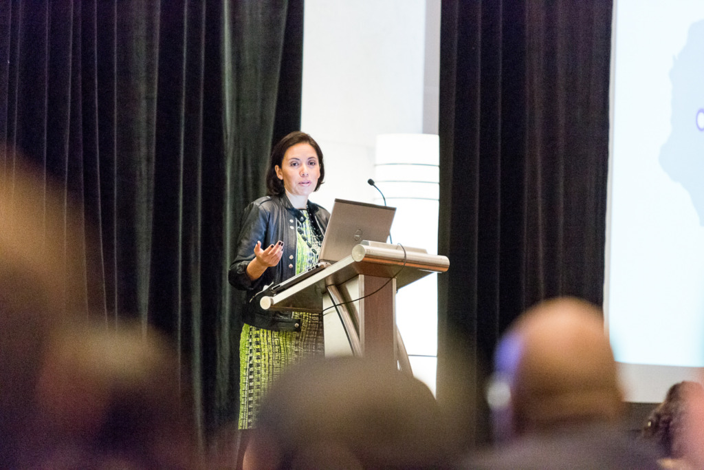 Paola Moya Speaking at the 2014 NOMA Conference in Philadelphia